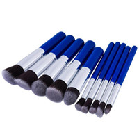 IN STOCK Newest high quality makeup the blue handle 10pcs ma...