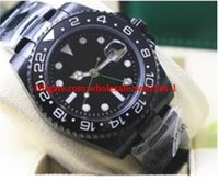 Christmas gift Factory Supplier GMT 116710LN 40mm Black Cera...