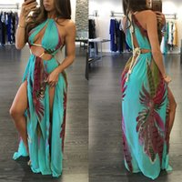 New sexy waist drawstring dress swimsuit beach cover up dres...