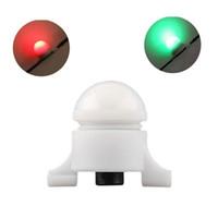 Atacado-Pesca Bell Bite Alarme Portátil Mini Eletrônico Led Luz Carpa Impermeável Automático Para Vara De Pesca Esporte Dispositivo Mordida Sem Fio