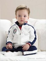 kids set sport suit children long sleeve Cardigan boy and gi...