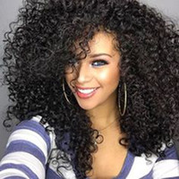 New Arriving cheap beauty Simulation Human hair wig Kinky Cu...
