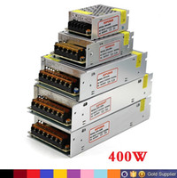 Haute qualité DC 12V Transformateur 70W 120W 180W 200W 240W 300W 360W 400W Alimentation pour les bandes led Modules AC 100-240V