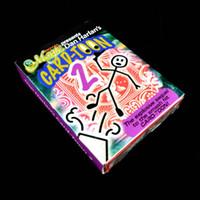 카드 - 만화 만화 마술 카드 갑판 v2 카드 놀이 포커 마술 전문 마술사 애니메이션 퍼즐 완구 무료 트위터