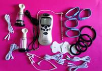 Électrochoc Electro-choc Kit Pénis Physiothérapie Anneau Urétral Plug Anal Gel Pad BDSM Jeux Adultes Produits de Sexe Pour Adultes Jouets