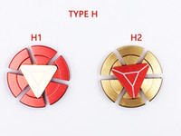 2017 hot Fidget spinner toys Tri- Fidget Metal Colorful EDC G...