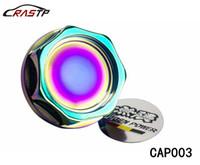 RASTP - Réservoir Mugen Universel Aluminium Cap carburant Bouchon d'huile pour Honda Puissance huile moteur Cap Neo Chrome LS-CAP003