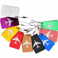 Aircraft Plane Luggage ID Tags Boarding Travel Address ID Ca...