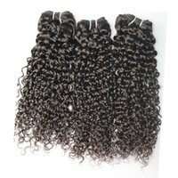 Jerry curly Weaves 8A Best Quality Human Hair Extensions Per...