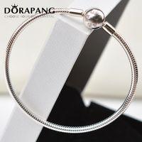 DORAPANG 100% 925 Sterlingsilber Authentic Armband-passende Original-Armband-Armband-oder Charme-Korn-Charme-Feste Perlen 8030