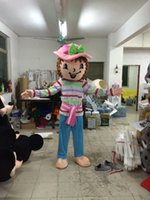 2017 hot new adult strawberry girl traje traje de mascote morango shortcake