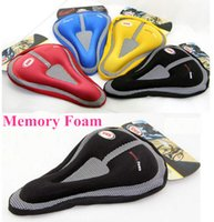 Colorful Bike Bicycle Seat Cover Bike Soft Gel 3D Silicone S...