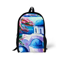 Customize Painting Finish Backpacks for School Kids Greece T...