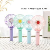 Foldable Portable Desk Desktop Table Cooling Fan Battery Ope...