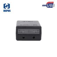Vente chaude mini 5mil 1D lecteur de codes-barres usb avec lecteur de capteur d'image ccd support buzzer et indicateur LED plus grande vitesse de balayage HS-M302