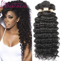 Peruvian Deep Wave Human hair Weaves 3Bundles Unprocessed Hu...