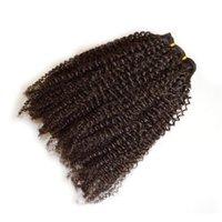 Afro kinky curly 100% menschliche Haarspangen Brasilianischer mongolischer indischer malaysischer peruanischer Haarwebares Clip Ins Erweiterungen
