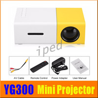 Hot sale YG300 Portable LED Projector Cinema Theater PC Lapt...