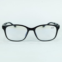 2021Nuevos ojos grandes Lectura de gafas Marco de plástico completo Simple y cómodo gafas para ancianos