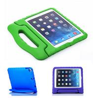Portátil para niños Safe Safe A prueba de choques EVA Handle Handing Stand para iPad Mini 1234 2/3/4 Air 5 6 Pro Envío gratuito
