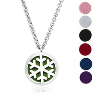 1Pc 30mm Stainless Steel Aromatherapy Fillligree Locket Esse...