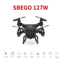 SBEGO 127W 2. 4G 4CH 6- Axis Gyro 0. 3MP Wifi FPV Foldable RC Q...