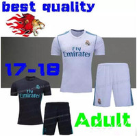 free shipping 2017 2018 Real madrid Men Set soccer Jerseys 1...