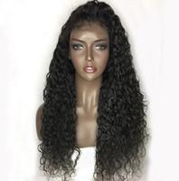 % 180 yoğunlukta su Doğal insan saçı peruk Yolma 360 dantel ön Peruk ıslak dalgalı Peru bakire saç peruk ön dalga