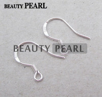 50 Pairs Wholesale 925 Sterling Silver Ear Wire Hooks with a...