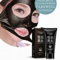 Einzelhandel BIOAQUA Mitesser schwarz Gesichtsmaske Pflege Saug Gesichtsmaske Nase Mitesser Entferner Peel Off Black Head Akne Behandlungen