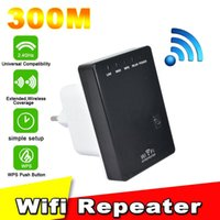 300Mbps 802.11b / g / n 300M Wifi Repeater Network Mini Router wi-fi Finders US EU UK Plug 20шт бесплатно DHL
