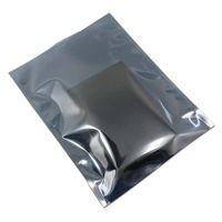 14*20 см с открытым верхом антистатический электронный компонент ESD антистатический экранирование Электрография прозрачный пластиковый мешок для хранения 200 шт./ лот
