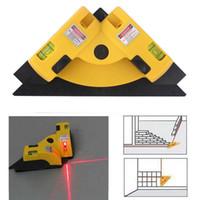Linha horizontal vertical do laser do medidor da projecção 90Degree do nível do quadrado