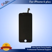 Wholesale- Grade A + + + LCD Display For Black iPhone 6 Plus 5....