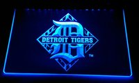 LS2184- b Detroit Tigers LED Neon Light Sign Decor Free Shipp...