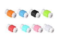 범용 실리콘 케이블 보호기 실리콘 USB 충전기 케이블 이어폰 와이어 코드 보호대 캔디 색상 아이폰 7 6s 5 세 삼성