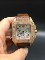 Excellent Brand New AAAA Quality Luxury rose gold Diamond Wa...