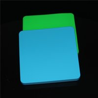 200ml de cire antiadhésive de récipients de cire antiadhésifs de silicium de boîte de silicone de grands récipients carrés de casseroles de plats de tapis outil de Dabber de grand pot se balançant FDA approuvé
