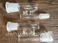 Neue Glashuka Adapter Reclaim Catcher Adapter Männlich / Weiblich 14mm 18mm Joint Glas Adapter Konverter für Ölplattformen