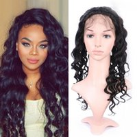 Mongolian 360 Lace Frontal Closure 130% Density Loose Wave P...