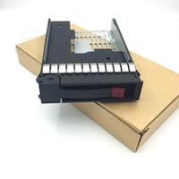"2.5 ""SSD a 3.5"" Convertidor SATA DRUCTOR DE DRUCTOR DE DURO FRUTA00FC28 + 373211-001 PARA HP DL140 G3 DL320 G4 DL160 G5 DL385 65"