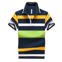 % 92 Pamuk Camisa Erkekler Gömlek Casual Çizgili İnce Kısa Kollu ASYA SIZE M-4XL Ücretsiz Kargo
