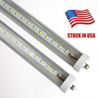 8ft FA8 single pin T8 LED tube light lamp bulbs SMD2835 fluo...