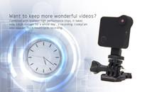 HD 1280 * 720 P Kablosuz Wifi Giyilebilir Vücut Kamera C1 P2P IP Kameralar Hareket Sensörü Bisiklet Vücut Mikro Mini DV DVR Manyetik Klip Voice Kaydedici