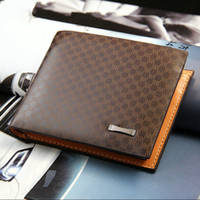 Male Genuine Leather luxury wallet Casual Short designer Car...