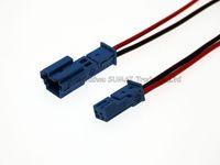 Хорошее качество синий автомобиль динамик разъем,автоматический разъем стерео,лампы автомобиля разъем с 10см кабель для BMW Х1 Х5 ECT автомобиля.Черный и красный кабель