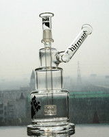 2021 Hitman Glass Bongs Classic Brilliance Торт Курение трубы DAB Установки водных труб Bong с мужским суставом 14 мм