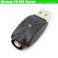 Top Wireless 510 mini adaptador de cargador USB BUD touch ego batería IC Protection e cigs Cigarrillo electrónico esmart Cartuchos cargadores DHL