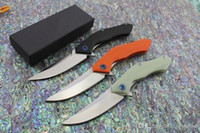 Широгоров получеткий Флиппер подшипник шайба D2 сатиновое лезвие G10 ручка на открытом воздухе выживания тактический складной нож кемпинг EDC инструменты
