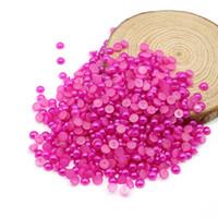 Flatback половина жемчужные бусины темный персиковый цвет 4 мм, 6 мм, 8 мм, 10 мм окружающей среды половина жемчужные бусины ногтей DIY
